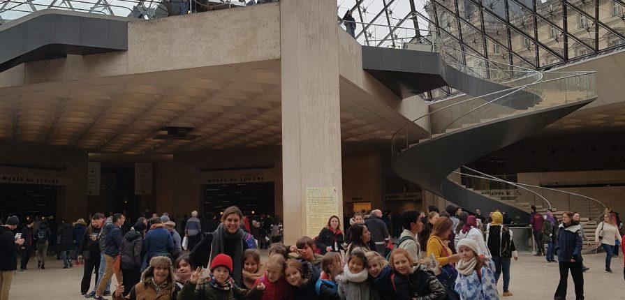 A la découverte du musée du Louvre!