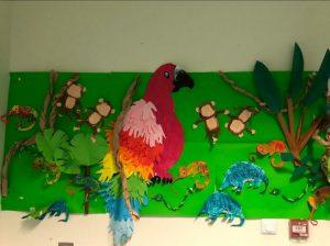 A la découverte des animaux de la jungle !