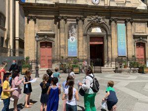 Visite de la Basilique Notre -Dame- des Victoires