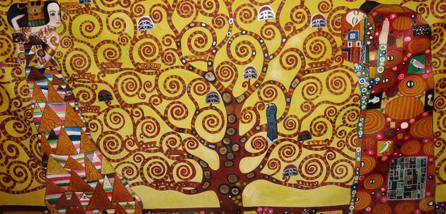 L'arbre de vie à la manière de Klimt