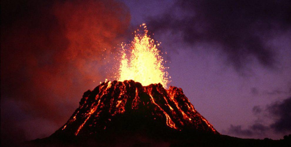 Volcans en arts visuels