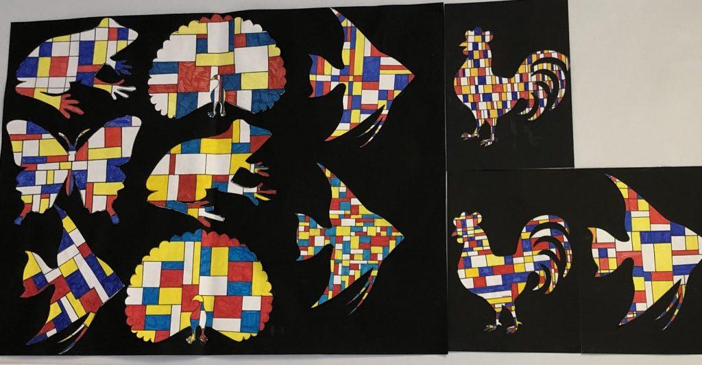 Animaux en arts visuels