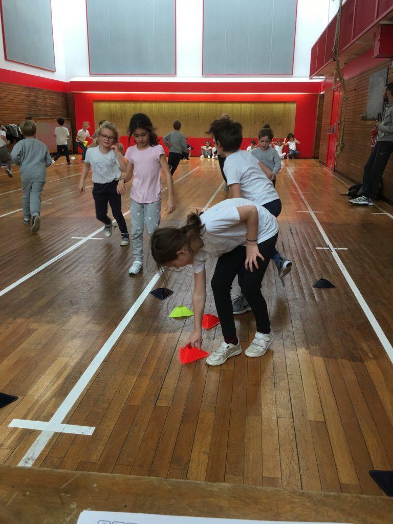 Le sport en classe de CE2
