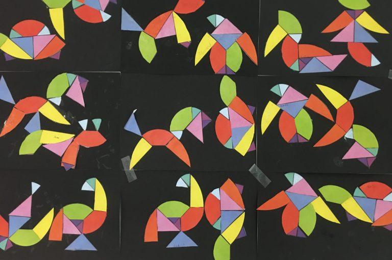 Le tangram des animaux