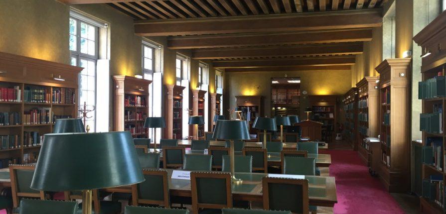 Sortie à la Bibliothèque historique de Paris